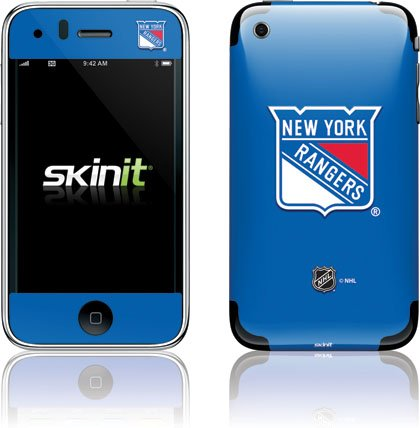 Skinit Protective Skin for iPhone 3G/3GS - NHL NY Rangers