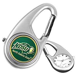 North Dakota State Bison NDSU NCAA Carabiner Watch