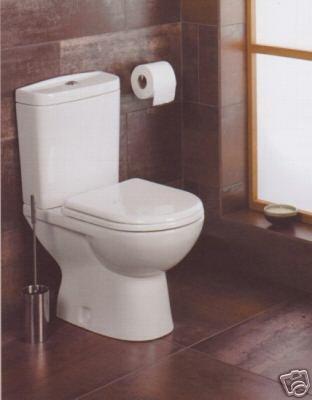 Tavistock Compact Bathroom/Cloakroom Toilet/Pan Cistern