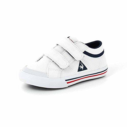 Le Coq Sportif SAINT GAETAN INF Chaussures Mode Sneakers Bebe Blanc LE COQ SPORTIF