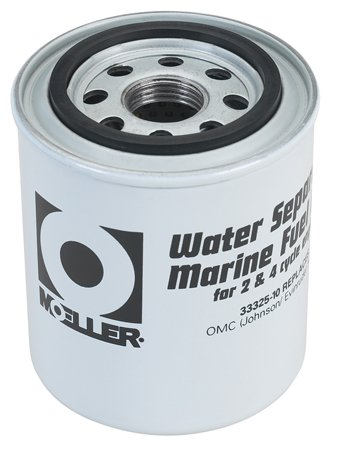 Moeller Water Separating Fuel Filter (Short Water, Mercury/Universal/Yamaha) primary