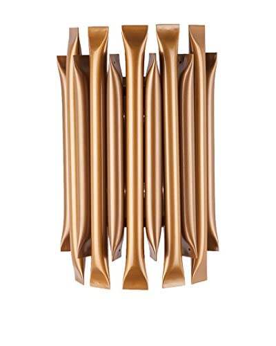 Control Brand The Breman 2-Light LED Wall Sconce, Gold