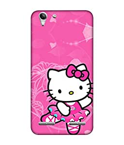 chnno Hello Kitty 3D Printed Back cover for Lenovo Vibe K5 Plus