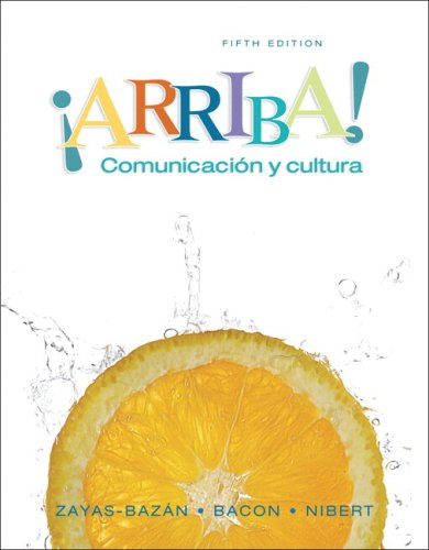 Arriba: Comunicacion y cultura Student Edition Value...