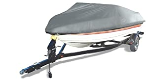 Offshore Easy Slip On Mooring Boat Covers by Wake (Model C) (Blue, Fits: 16 to 18.5-Feet)
