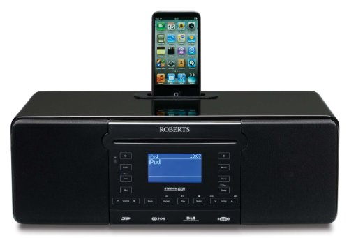 Roberts STREAM63i CD/DAB/FM Internet Sound System with iPod Dock and Record Facility