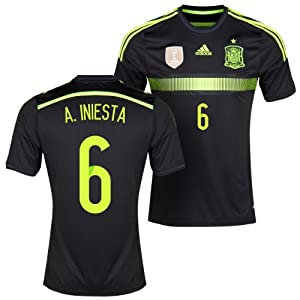Spain Away 2014 Jersey (Official Adidas)