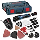 Cutting-Edge Bosch GOP10.8V All Rounder Kit with 36 Accessories in Systainer Kit [Cleva Edition]