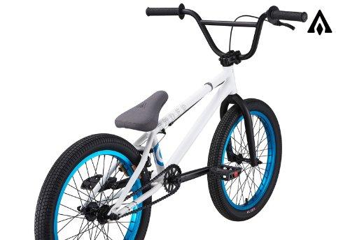 Amber Archos Matte White BMX Bike