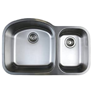 Blanco BL441022 BlancoStellar 1.6 Bowl Undermount Sink, Refined Brushed