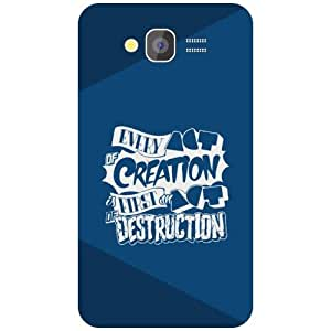 Samsung Grand 2 Phone Cover - Creation Matte Finish Phone Cover