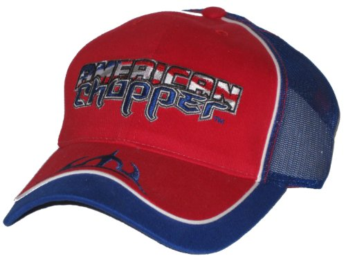 American Chopper Two Tone Mesh Snap Back Adjustable Hat (Hat American Chopper compare prices)