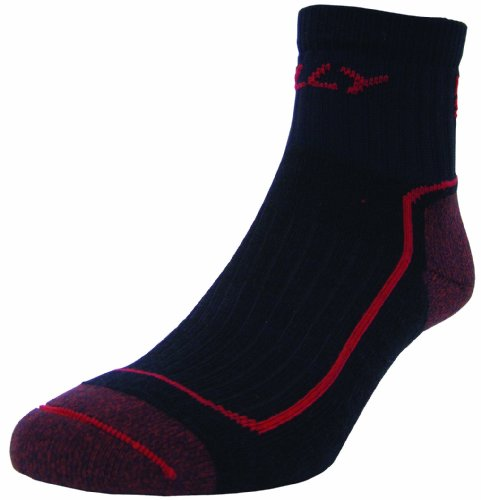 Hilly Mono Skin Off Road Sock Navy/Red