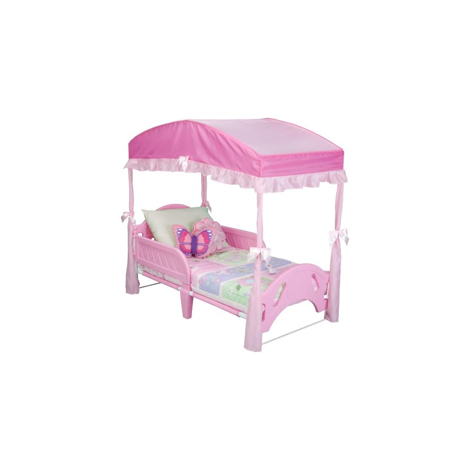 Delta Girls Toddler Bed Canopy Pink On PopScreen