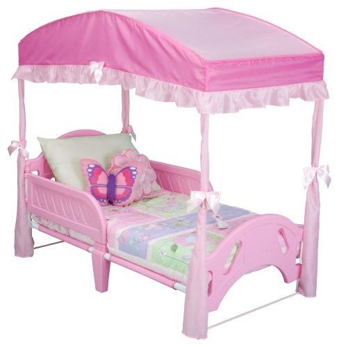 Review Delta Girls Toddler Bed Canopy, Pink