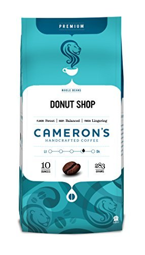 Cameron's Whole Bean Coffee, Donut Shop Blend, 10 Ounce by Cameron's Coffee (Donut Shop Whole Bean Coffee compare prices)