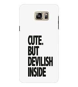 EPICCASE Repeated design Mobile Back Case Cover For Samsung Note 6 (Designer Case)