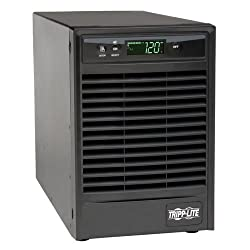 TRIPP LITE SU1000XLCD 1000VA 120V USB DB9 SNMP RT 900-Watts UPS Smart Online LCD Tower