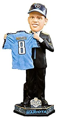 Marcus Mariota Tennessee Titans 2015 Draft Day Bobblehead Forever Collectibles