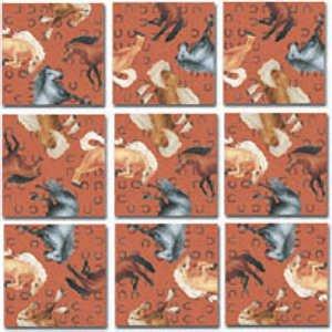 Cheap B Dazzle Horses Scramble Squares Puzzle 9pc (B000XO4FIG)