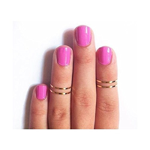 7pcs-simple-gold-tone-shiny-cute-gothic-punk-stack-plain-above-knuckle-midi-finger-band-rings-joint-