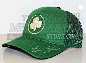 Brian Scalabrine Boston Celtics Signed Celtics Green Hardwood Classics Hat by Your Sports Memorabilia Store