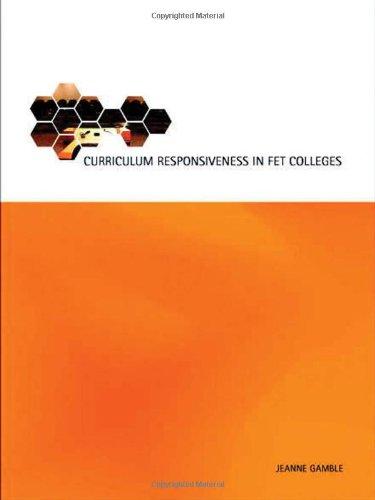 Curriculum Responsiveness in FET Colleges