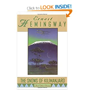 The Snows Of Kilimanjaro and other stories - Ernest Hemingway