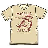 ガンダム マゼラアタックTシャツ Lベージュ サイズ:M