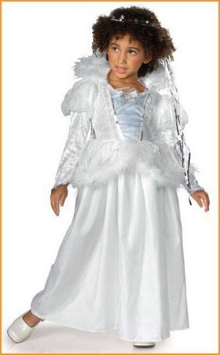 Fairy Tale Snow Queen Halloween Costume Toddlers.