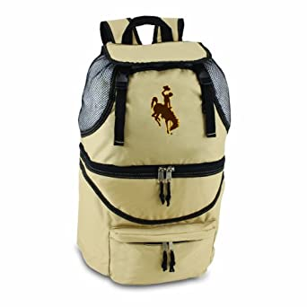 Picnic Time Zuma Wyoming Cowboys Print Backpacks