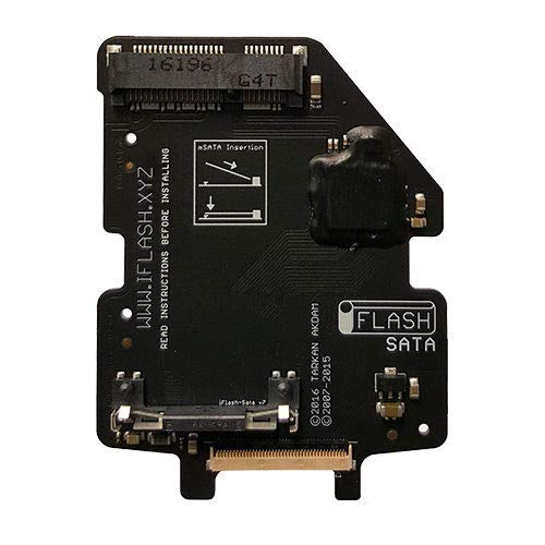 TARKAN iFlash-Sata mSata Adapter for The iPod