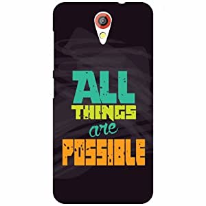 Printland All Things Are Possible Phone Cover For HTC Desire 620G