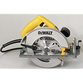 DEWALT DW368K Heavy-Duty 7-1/4-Inch Lightweight Circular Saw Kit