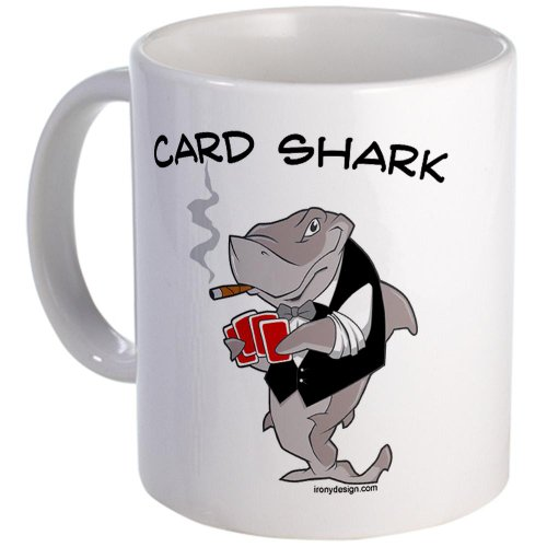 Card Shark Mug Mug By Cafepress