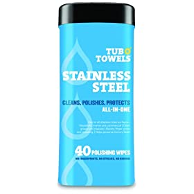 Amazon Com Tub O Towels Tw40 Ss Stainless Steel Wipes For