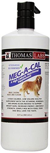 Thomas Laboratories Meg-A-Cal Pet Health Care Supply, 32 Fluid Ounce