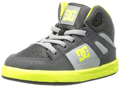 Dc Rebound Ul Skate Shoe (Toddler),Black/Yellow,10 M Us Toddler front-910717