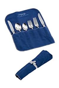 Hagerty 19100 6-Piece Place Setting Roll, Blue