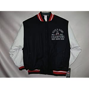 New England Patriots SUPERBOWL Reversible Varsity NFL YOUTH Jacket