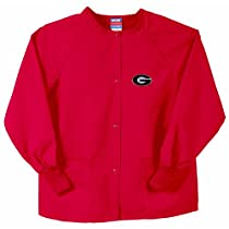 Georgia Bulldogs NCAA Nursing Jacket (Red)