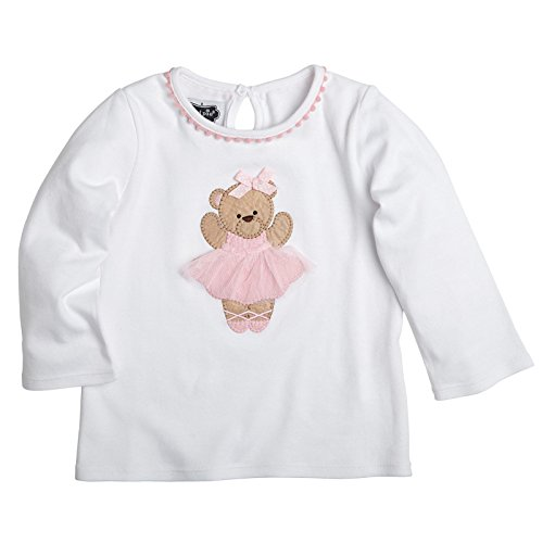 Ballet Bear Tunic (Medium 2T-3T) (Mud Pie Baby Girl Shoes compare prices)
