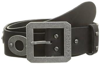 XS ceinture kaporal 5 bold cuir noir