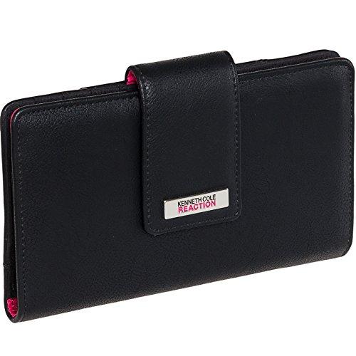 kenneth-cole-reaction-womens-tab-utility-clutch-wallet-w-mirror-buff-black