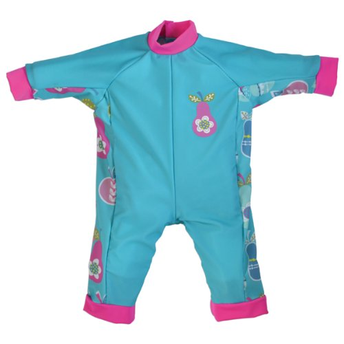 Splash About Uv (Spf50+) Sun Protection All In One Sun Suit/Eczema Suit (6-12 Mths (Chest: 59Cm Length: 33Cm), Tutti Frutti) front-582358