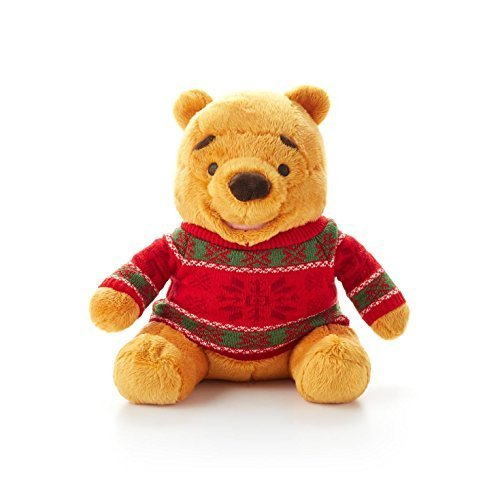 Hallmark Christmas XKT1456 Cozy Sweater Winnie the Pooh Stuffed Animal by Unknown - 1
