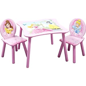 Disney Princess Kids' Table and Chair Set