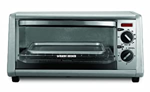 Black & Decker 4-Slice Toaster Oven, Silver at Sears.com