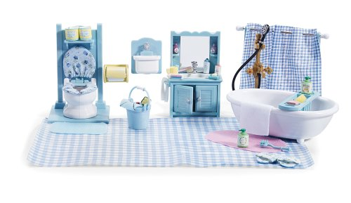 Amazoncom girly bathroom set