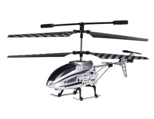 3-Channel RC iPhone iPad Control Helicopter with Gyroscope (Silver)